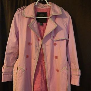 Authentic Coach Trench Coat $40